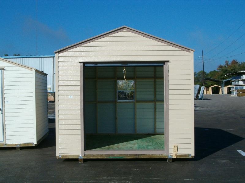10x12 garage door storage structures vinyl siding for 12 x 10 garage door