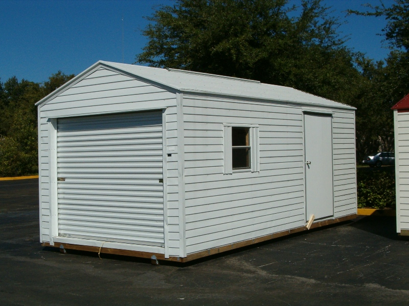 10x20 With Optional Garage Door