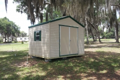 12x10 with Double Door and Floridian Eave