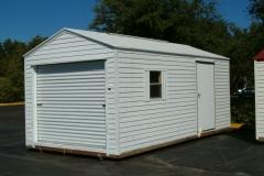 10x20 With Optional Garage Door