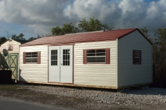 Cream and Terracotta Bungalow - Bahama Doors and Windows