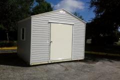 12x8 with 5' wide door