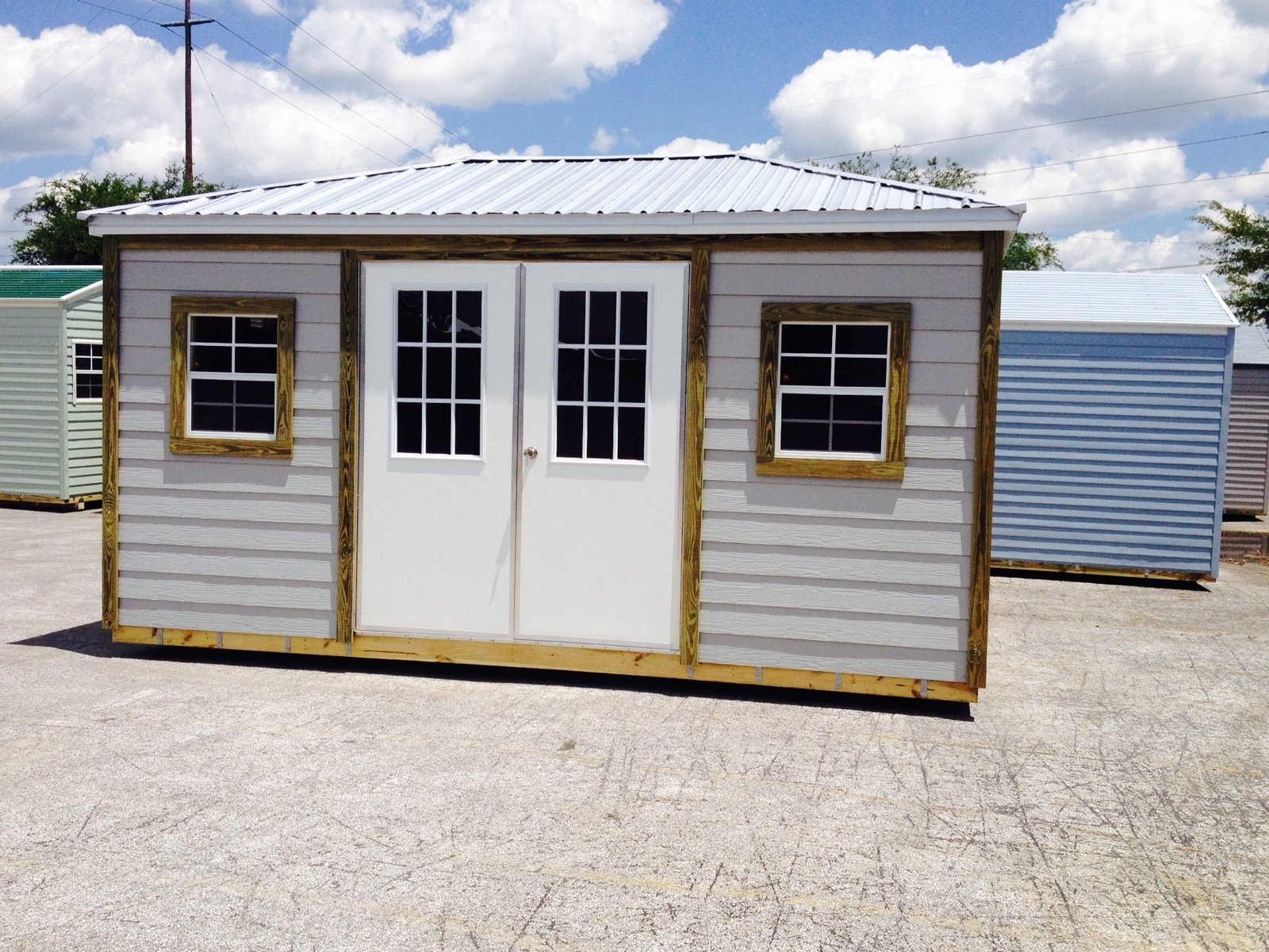 Cabana sheds utility sheds florida storage sheds for Sheds storage buildings