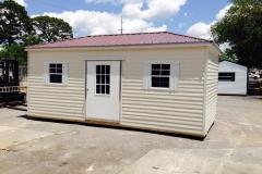 10X16 Cabana - Alum Siding - Advantage Panel Roof