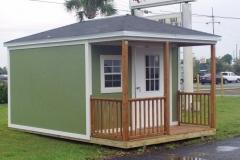Stucco Cabana with Porch