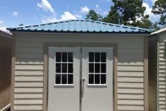 HardiPlank and Permatile - Bahama Doors