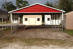 20x21x8 Boxed Eave with Gable
