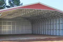 50x60x14 Vertical Roof Sides and Rear Enclosed