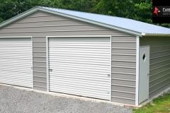 Enclosed Shop - 10x8 Roll-Up Doors
