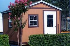 10x10 Rustic Wood & Shingles - Bahama Windows/Door