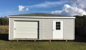 double wide shed