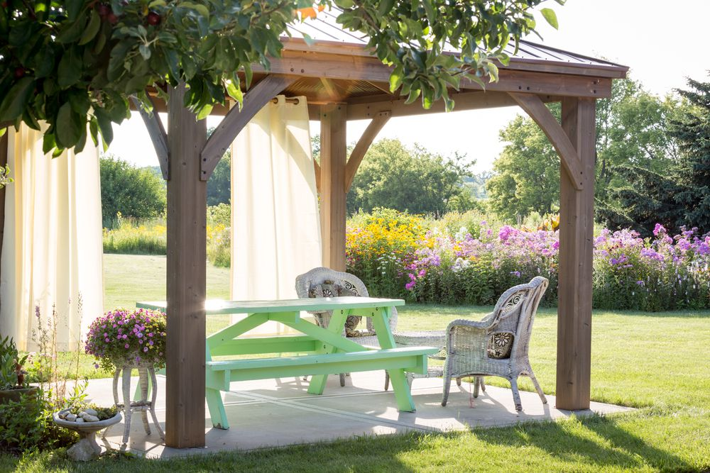How To Keep Insects From Your Garden Gazebo Superior Sheds