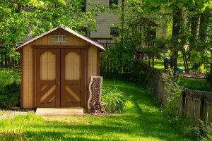 shed with ramp